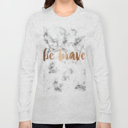 Be Brave Marble 045 Long Sleeve T-shirt