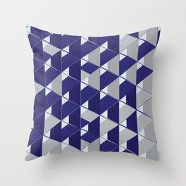 3D Lovely GEO III Throw Pillow