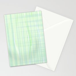 Looks like water droplet when you see from afar falling down the stripy background Stationery Cards