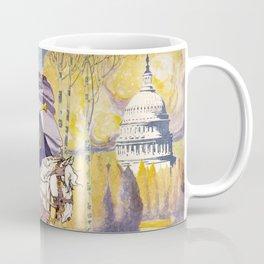 Woman suffrage procession March 3, 1913 Coffee Mug