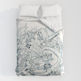 The Little Mermaid (Wonderful Mess Series) Comforters