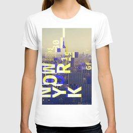 GLITCH CITY #00 NEW YORK T-shirt