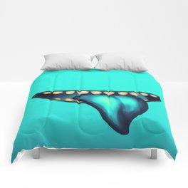 Big Mouth (Cyan) Comforters
