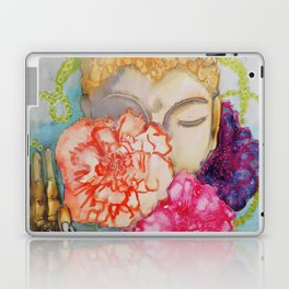 here and now Laptop & iPad Skin