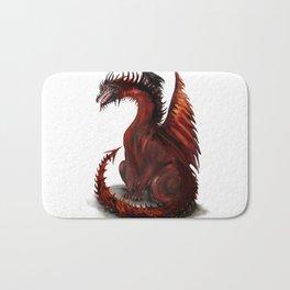 Challenger Lone Dragon Abstract Bath Mat