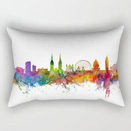 Belfast Northern Ireland Skyline Rectangular Pillow
