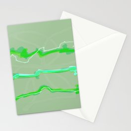 Fluffy lines twisting and turning no. 18 Stationery Cards