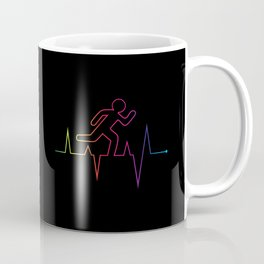 Heartbeat Runnin' Away Coffee Mug