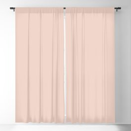 Pale Dogwood | Pantone Fashion Color Spring : Summer 2017 | Solid Color | Blackout Curtain