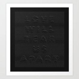 Love Will Tear Us Apart - 1 Art Print