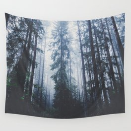 The mighty pines Wall Tapestry