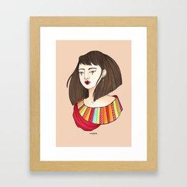 Eun-Mi Framed Art Print