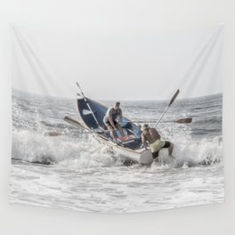 Get a leg up Wall Tapestry
