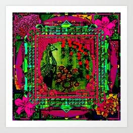 Framed 8 Art Print