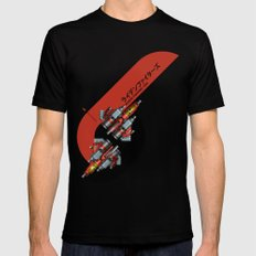 Raiden Fighters Black Mens Fitted Tee X-LARGE