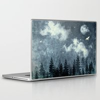 cloud Laptop & iPad Skins featuring The cloud stealers by HappyMelvin
