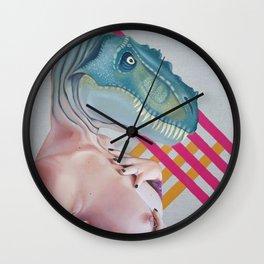 Queer Dinosaur Wall Clock