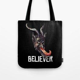 Krampus Believer Gruss Vom Merry Christmas Demon Tote Bag