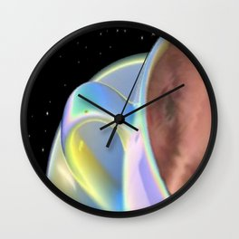 Flying Cup and Saucer Wall Clock