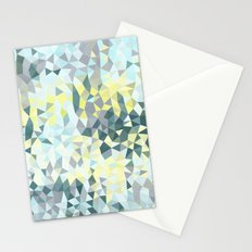 Spring Rain Tris Stationery Cards