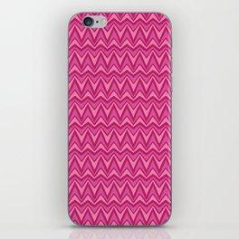 Chevron-Pinkies iPhone Skin