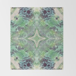 Abstract Texture Throw Blanket