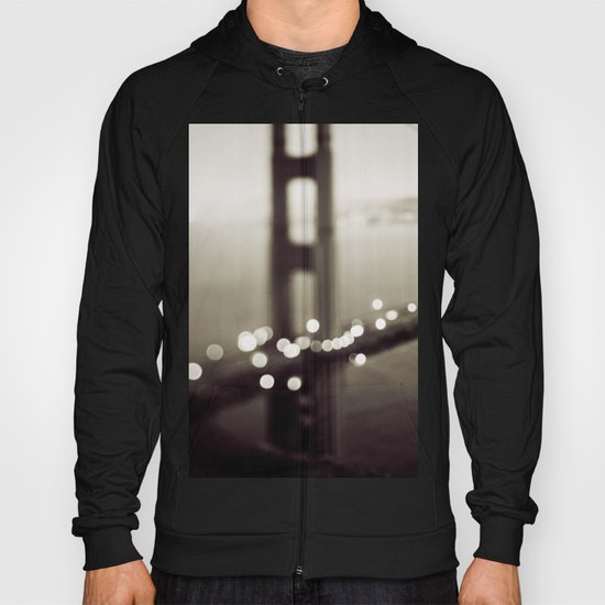 Meet Me In San Francisco (Black and White Edition)  Hoody