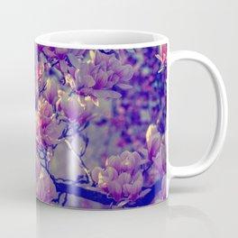 Magnolia flowers design in the garden of spring Coffee Mug