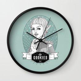 Sera´s Us Cookies Wall Clock