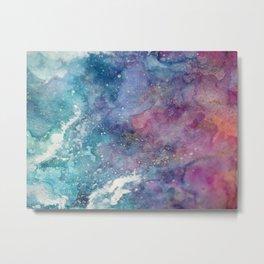 Celestial Ocean Abstract Metal Print