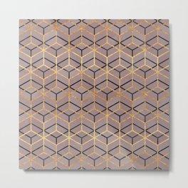 Pretty Geometry 1 Metal Print