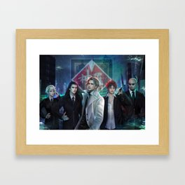 Rufus and The Turks Framed Art Print