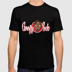 www.GoofyInkCaricatures.com Black Mens Fitted Tee MEDIUM