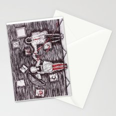 Tied to Disorder Stationery Cards