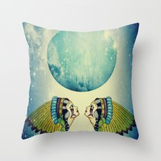 Planet Uranus Throw Pillow