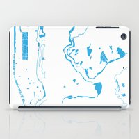 parks and rec iPad Cases featuring Parks - nyc vs istanbul by ERAY CARBAJO