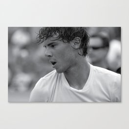 "Rafael ""Rafa"" Nadal "" King of Clay"" court playing tennis at the Miami Open Canvas Print"