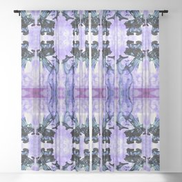 What The Squid Did Second Sheer Curtain