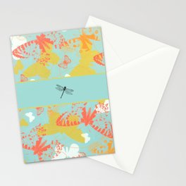 Dragonfly Band Stationery Cards