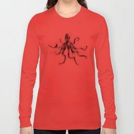 King Octopus Long Sleeve T-shirt
