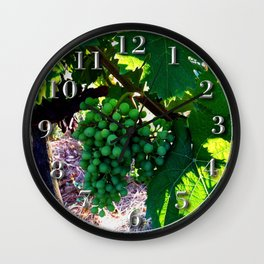 Grapes of Wrath Wall Clock