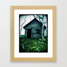 the shack Framed Art Print