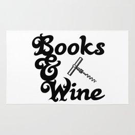 Books & Wine Rug