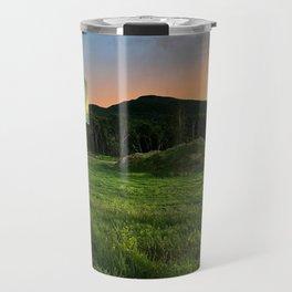Sunday River Sunset Travel Mug