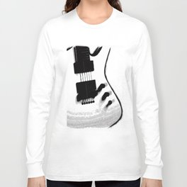 Guitar Iceman Long Sleeve T-shirt