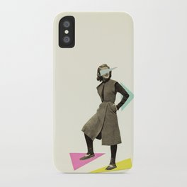 Shapely Figure iPhone Case
