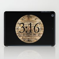 bible verses iPad Cases featuring LOST VERSES FOUND by Miriam Hahn