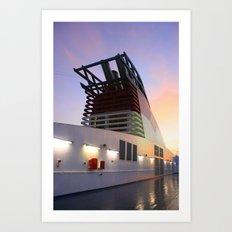 Sitting Starboard Art Print