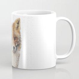 Arctic Snow Red Fox Coffee Mug