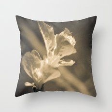 Trace of Spring Throw Pillow